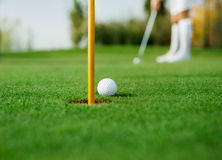 Detail of golf Royalty Free Stock Image