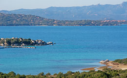 Detail of Golfo di Marinella. Sardinia Royalty Free Stock Photo