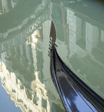 Detail of a gondola in Venice Stock Images