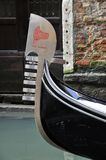 Detail of the gondola in venice Royalty Free Stock Photography