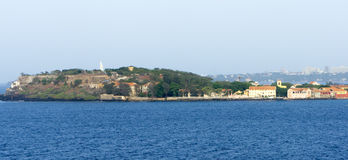 detail of goree island royalty free stock photography