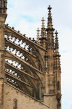 Detail of gothic architecture Royalty Free Stock Image