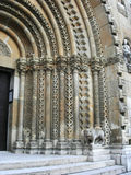 Detail of Gothic architecture at a church. In Budapest, Hungary Stock Image