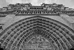 Notre Dame Cathedral - Paris Royalty Free Stock Image