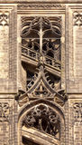 Detail of the Gothic Meissen Cathedral Royalty Free Stock Photography