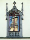 Detail of the Gothic window Royalty Free Stock Photos