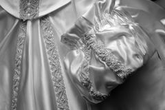 Detail of a gown Stock Photos