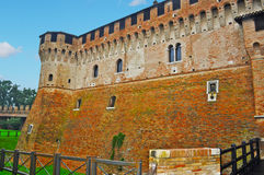 Detail of Gradara castle Royalty Free Stock Images