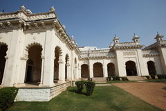 Detail at the Grand Chowmahalla Palace Royalty Free Stock Photos
