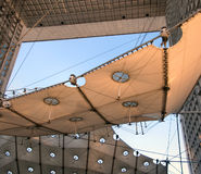 Detail of Grande Arche. At Paris district Defence Royalty Free Stock Images