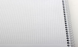 Detail of graph notebook Stock Images