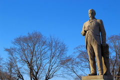 Man gravestone statue  Stock Images