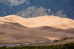 Detail of Great Sand Dunes NP Royalty Free Stock Image