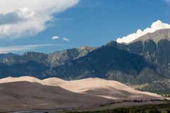 Detail of Great Sand Dunes NP Royalty Free Stock Images
