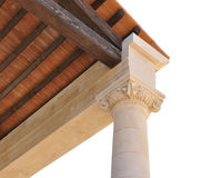 Detail greek ionic order Stock Images