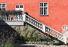 Detail from Gripsholm. Castle and environment in Sweden Royalty Free Stock Photos