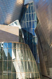 Detail of Guggenheim Museum in Bilbao Royalty Free Stock Images