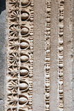 Detail of Hadrian's Temple in Ephesus. Izmir Turke Stock Photography