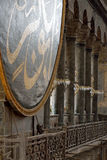 A detail in Hagia Sophia Mosque in Istanbul Stock Images