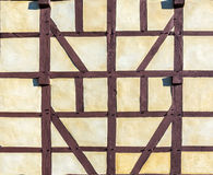 Detail of half-timbered house Royalty Free Stock Image