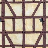 Detail of half-timbered house Stock Photo