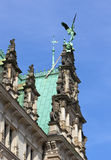 Detail of Hamburg Town Hall Royalty Free Stock Image