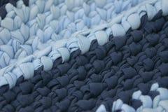 Handmade Blue Rug Royalty Free Stock Photos