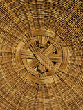 Detail hand woven basket cover Stock Photos