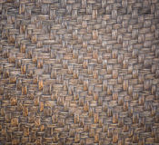 Detail of handmade bamboo weave texture for background. Detail of dark handmade bamboo weave texture for background Stock Images