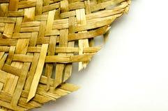 Detail of an handmade wicker Stock Photography