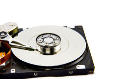 Detail of hard drive Stock Image