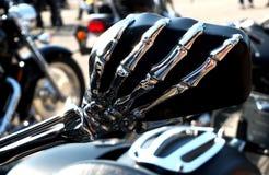 Detail of Harley-Davidson Stock Image