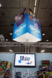 Detail of Hasbro stand at G! come giocare in Milan, Italy Stock Photography