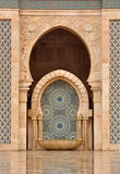 Detail of Hassan II Mosque in Casablanca Royalty Free Stock Images