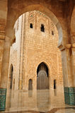 Detail of Hassan II Mosque in Casablanca Royalty Free Stock Image