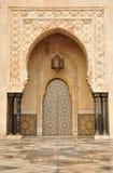 Detail of Hassan II Mosque in Casablanca Stock Photo