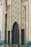 Detail of Hassan II Mosque in Casablanca, Morocco Royalty Free Stock Photography