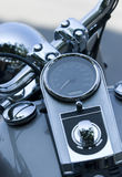 Detail of heavy motorbike Stock Photo