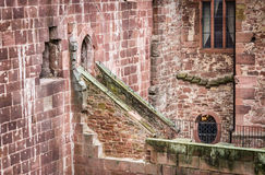 Detail of Heidelberg Castle in Germany Stock Photography