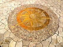 Detail in het centrale park in Chisinau, Moldavië, Moldavië Stock Fotografie