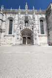Detail of Hieronymites Monastery. Located in the Belem district of Lisbon, Portugal Stock Photo