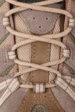 Detail of hifing shoe Stock Image