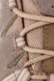 Detail of hifing shoe Royalty Free Stock Photos