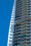 Detail of a high rise building Royalty Free Stock Images