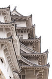 Detail of Himeji Castle, Japan Stock Image