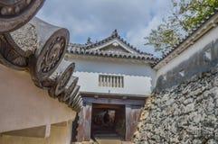 Detail Of Himeji Castle Japan stock photo
