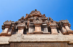 Detail of Hindu temple Stock Photo