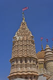 Detail of Hindu temple Stock Photography