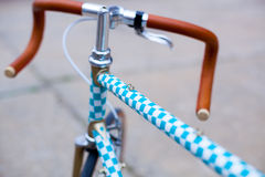 Detail of hipster bike Stock Photography