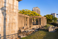 Detail of the Hiroshima Peace Memorial Royalty Free Stock Image